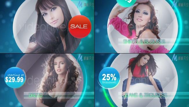 促销活动广告宣传视频AE模板