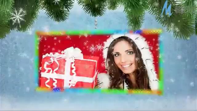圣诞节西方新年庆祝AE模板