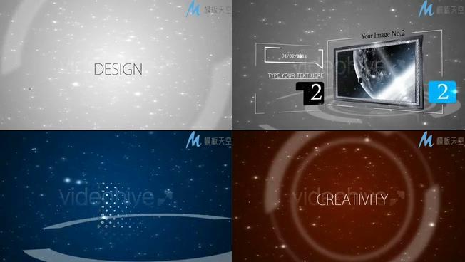 互联网科技产品展示AE模板