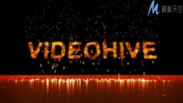 超燃的大型晚会宣传片头视频ae模板