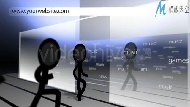 企业logo创意动画片头网站社区宣传ae模板