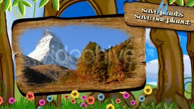 以动画形式宣传环保的视频ae模板