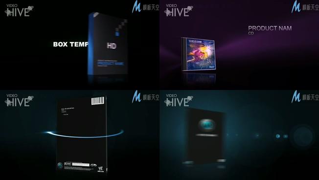 产品展示介绍及价格的视频ae模板