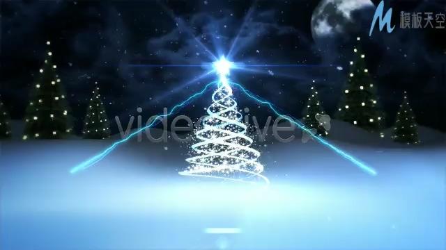 浪漫轻快的圣诞祝福视频ae模板