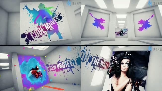创意涂鸦时尚宣传视频ae模板