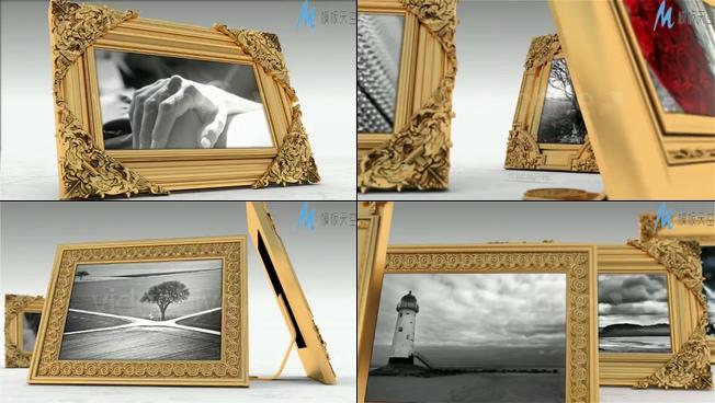 优雅端庄的照片展示ae模板