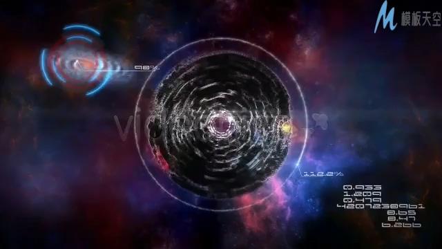 绚烂梦幻的宇宙拍摄视频ae模板