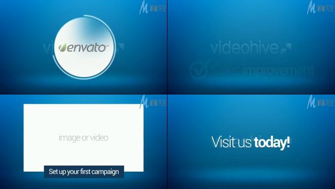 企业产品推广营销的ae模板