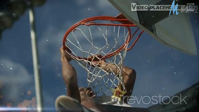 时尚震撼的篮球电影预告ae模板