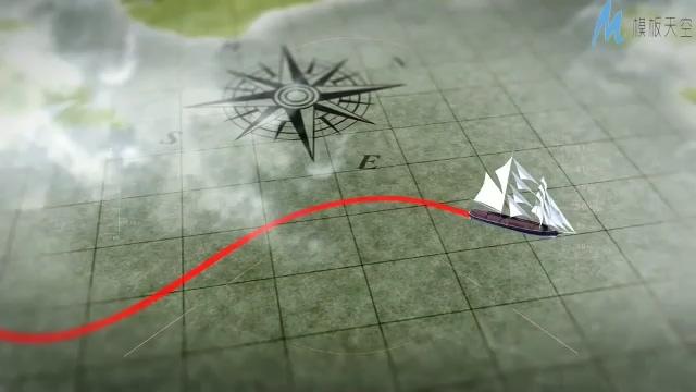 mg动画演示世界旅游交通工具ae模板