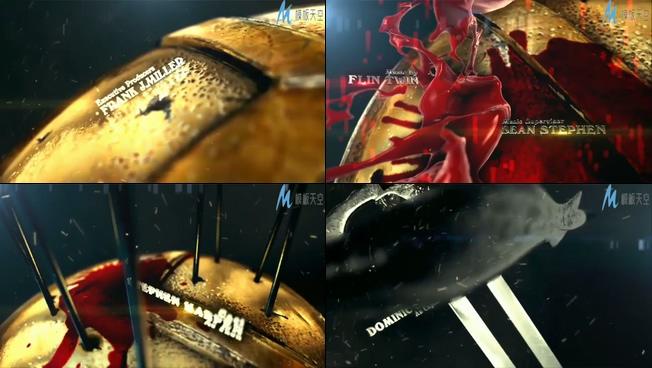 震撼大气的重金属时尚宣传ae模板