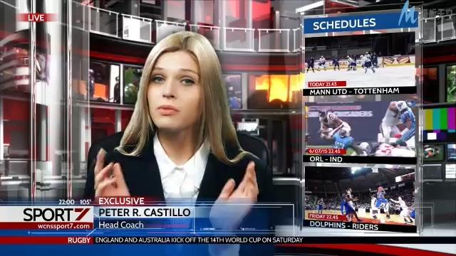 动感震撼的全球新闻直播间完整播报的ae模板