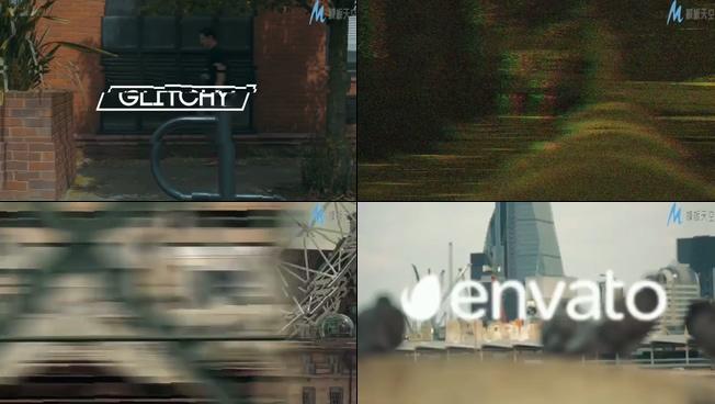 描绘城市快节奏生活的视频片头ae模板