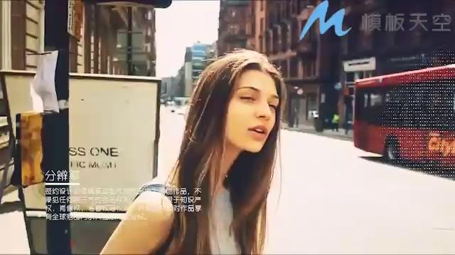 15040010时尚动感标题城市旅游视频图文动画PR模板