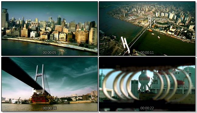 城市出行交通方式的实拍视频