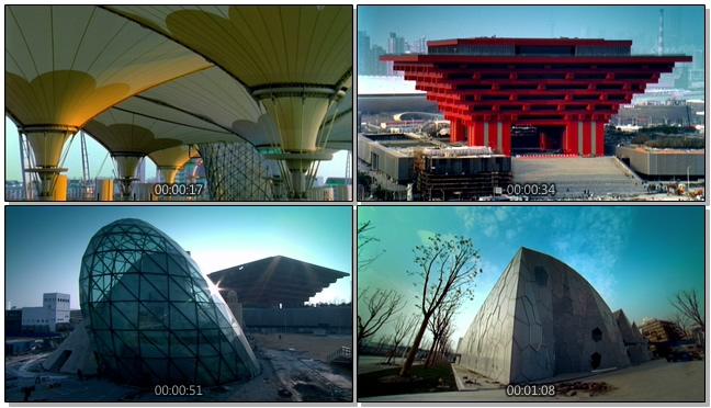 城市著名景点介绍的实拍视频