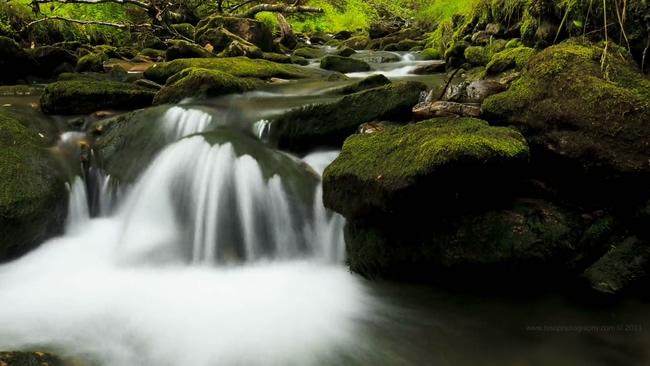 14150044延时摄影:挪威山间的溪流
