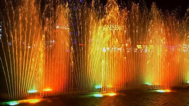 140510094宁波夜景+城市灯光+喷泉