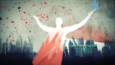 墨彩篮球运动宣传片视频AE模板