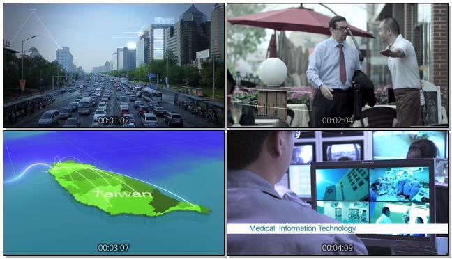 中国联通公司宣传与介绍的实拍视频