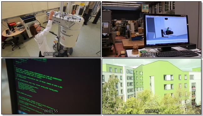 动感震撼的机器设备宣传实拍视频