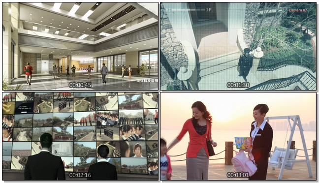 温馨甜蜜的的房地产物业宣传片实拍视频