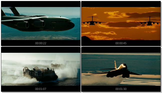 震撼大气的航母作战宣传片实拍视频