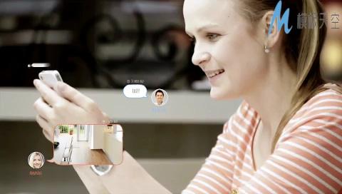 聊天通信字幕元素AE模板