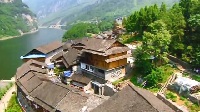 航拍唯美的重庆旅游景点风光实拍视频