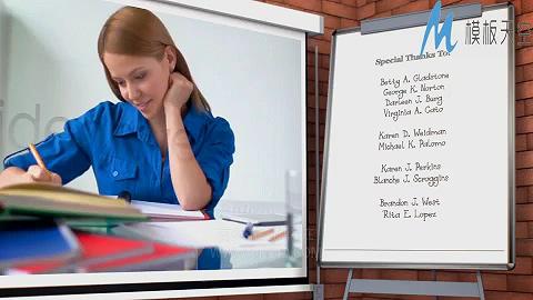 学校宣传片AE模板