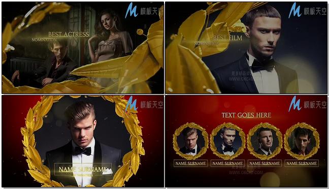 电视颁奖典礼栏目包装AE模板