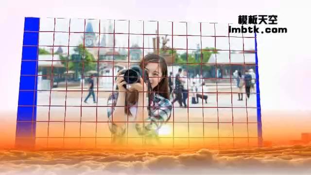动感3D特效视频相册