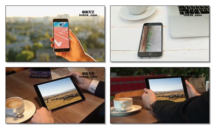 多种场景科技产品展示视频会声会影x9模板