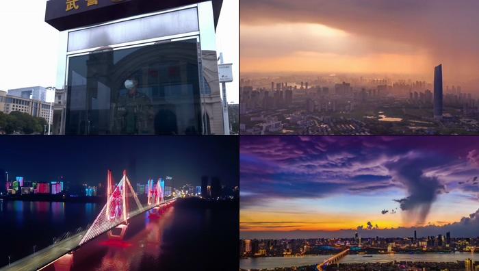 武汉加油视频素材