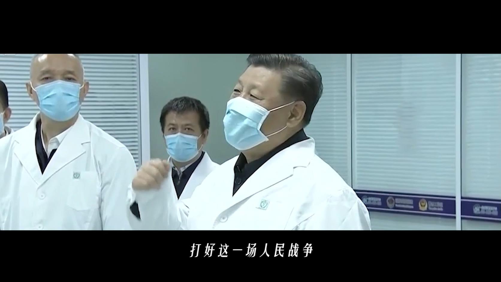 疫情混剪-抗击疫情:我们的力量视频素材