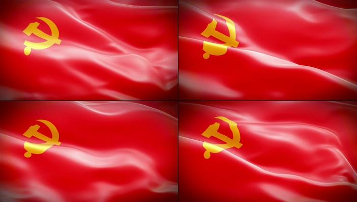 党旗视频素材